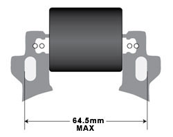 Ignition coil dimensions
